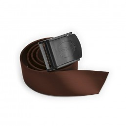 Nylon Buckle Belt Brown