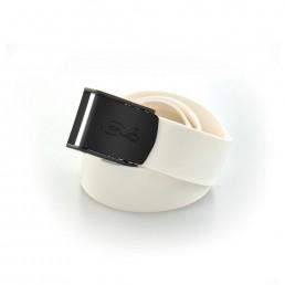 Nylon Buckle Belt White