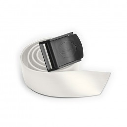 Nylon Buckle Belt White