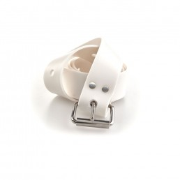 Marseille Buckle Belt White